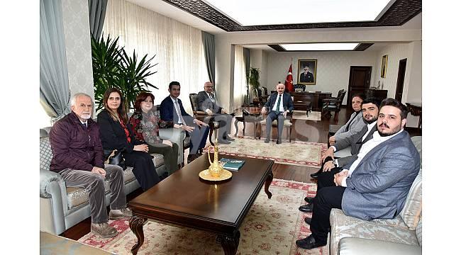 CHP İl Yönetiminden Vali Meral'e Ziyaret