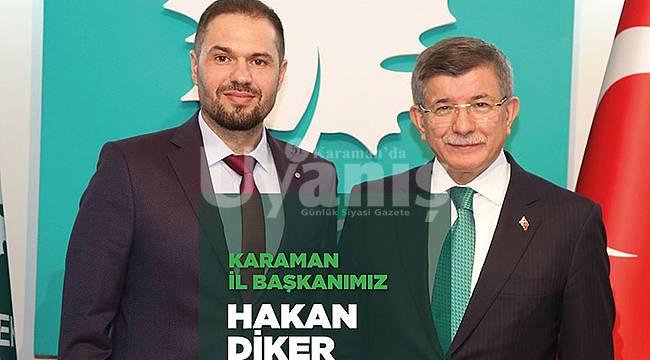 Gelecek Partisi Karaman İl Başkanı belli oldu