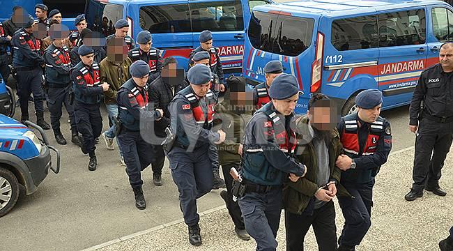 Karaman'da adliyeye sevk edilen 8 kişi serbest bırakıldı