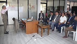 Karaman'da Belediye Otobüs Şoförlerine Eğitim Verildi