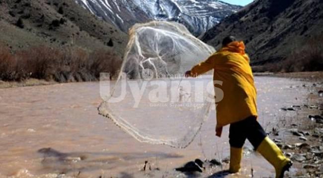 Karaman'da iç sularda su ürünleri av yasağı başladı