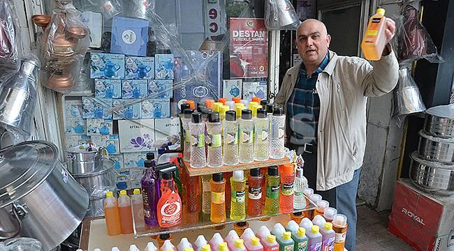 Karaman'da Korona Virüs Nedeniyle Kolonya Satışları Patladı
