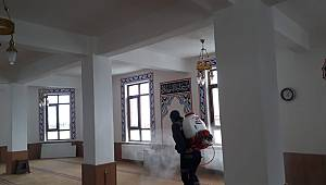 Karaman'da köyler dezenfekte ediliyor
