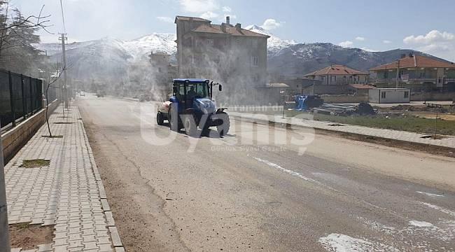 Kazımkarabekir'de dezenfekte çalışmaları devam ediyor