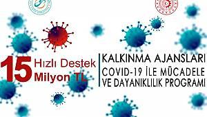 MEVKA'dan Covid-19 ile mücadele ve dayanıklılık programı