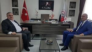 Milletvekili Şeker'den Özcan'a hayırlı olsun ziyareti