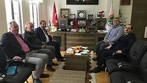 Rektör Akgül'den Zorlu'ya ziyaret