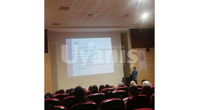 Sağlık personeline CRP eğitimi verildi
