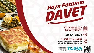 Türkiye Gençlik Vakfı'ndan Hayır Pazarına Davet