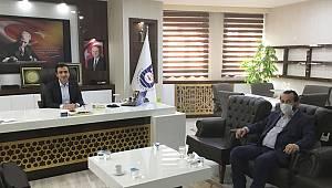 Akgül'den Belediye Başkanı ve Emniyet Müdürüne ziyaret