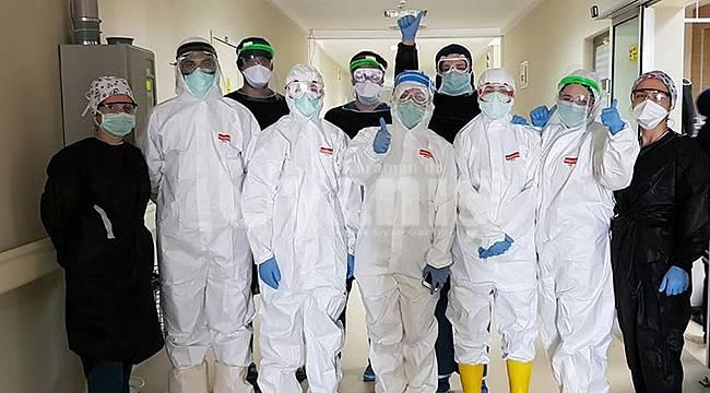 Karaman'da Koronavirüsü yenen hasta taburcu oldu
