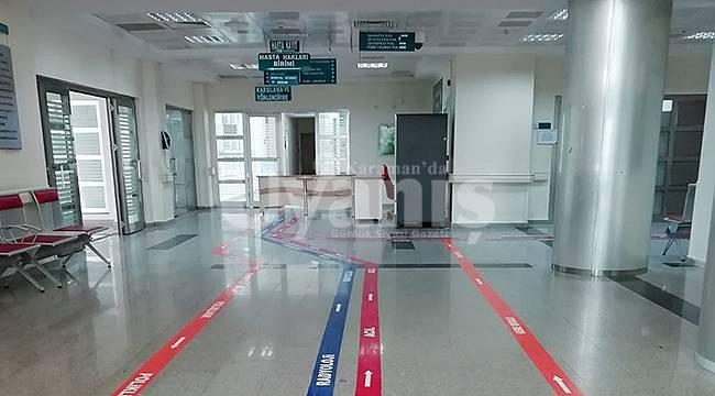 Karaman Devlet Hastanesi boş kaldı
