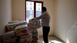 Karaman Devlet Hastanesinde 'sevgi bohçası' uygulaması