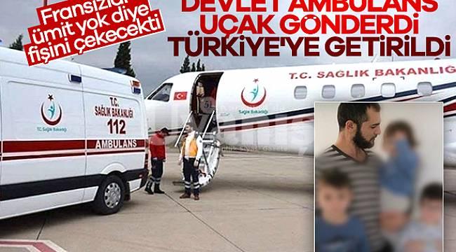Karamanlı gurbetçiye devlet şefkat elini uzattı