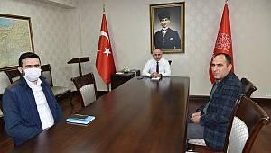 MÜSİAD Başkanından Vali Meral'e Ziyaret