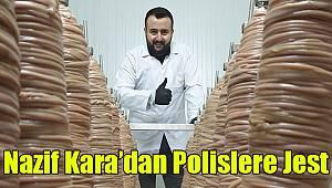 Nazif Kara'dan polislere jest