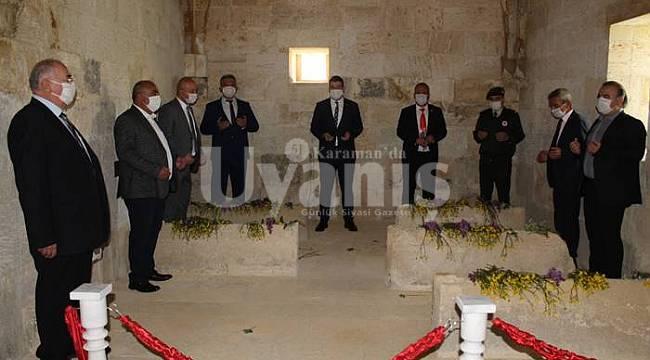 743. Türk Dil Bayramı Balkusan'da salgın nedeniyle buruk kutlandı