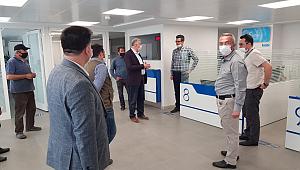 AK Parti Teşkilatı bankaları ziyaret etti