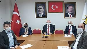 Çağlayan, Erdoğan'a Karaman'ın sorunlarını iletti