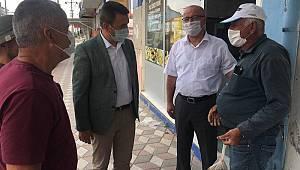 CHP Karaman İl Başkanlığı Ayrancı ilçesini ziyaret etti