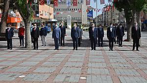 Karaman'da 19 Mayıs Gençlik ve Spor Bayramı Kutlandı