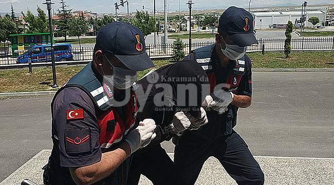 Karaman'da Adliyeye Sevk Edilen Zanlı Tutuklandı