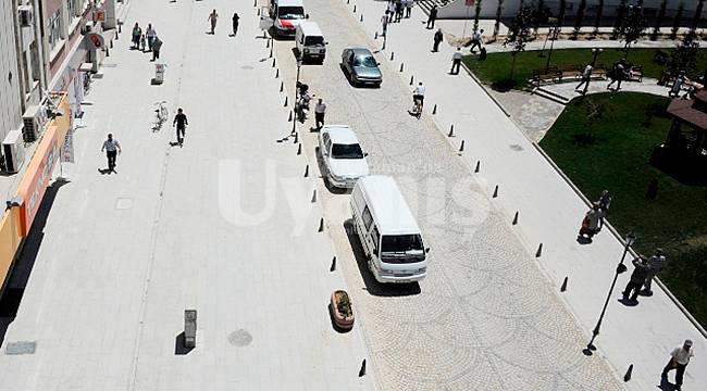 Karaman'da bazı caddelerde maske takma zorunluluğu getirildi