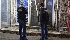 Karaman'da bir kişi benzin döktüğü iş yerini kundaklamak istedi