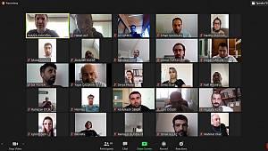 Karaman'da eğitimciler bayramlaştı