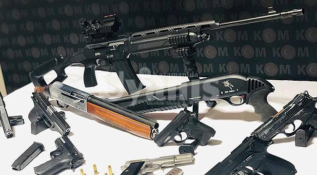 Karaman'da silah kaçakçılığı operasyonu