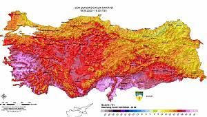 Karaman Kavruluyor! Meteoroloji Paylaştı Sıcaklık Rekorları Kırılıyor