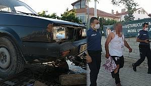 Polisin 'dur' ihtarına uymadı 7 bin 938 lira ceza yedi