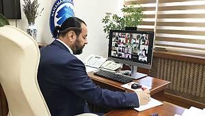 ÜAK toplantısı, telekonferans yöntemiyle yapıldı