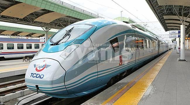 YHT Tren seferleri 1 Haziran'da başlıyor