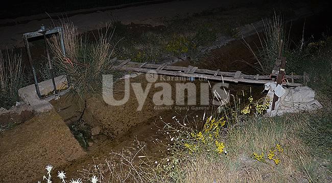 Ayrancı'da facia abi kardeş sulama kanalında boğuldu