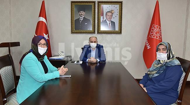 Bağımlılıkla Mücadele Derneği Başkanı Akcan'dan Teşekkür Ziyareti