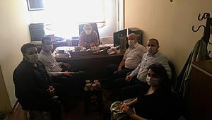 CHP İl Yönetiminden Gazetemize Ziyaret