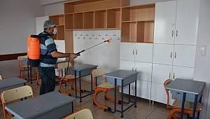 Dezenfekte Edilen Okullar Sınava Hazır