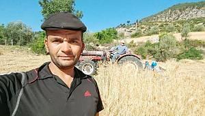 Ermenek bölgesinin ilk buğday hasadı yapıldı