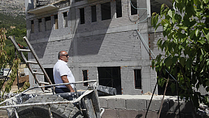 Güneyyurt'ta Kültür Merkezi inşaatı devam ediyor