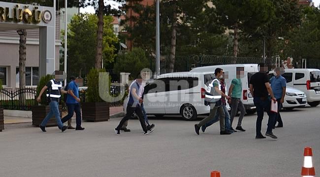 Karaman'da 12 Kişi Tutuklandı