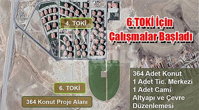 Karaman'da 6.TOKİ için çalışmalar başladı