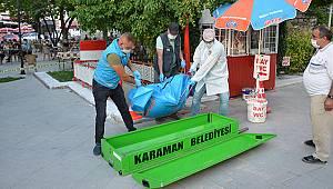 Karaman'da bir kişi tuvalette ölü bulundu