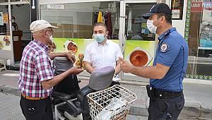Karaman'da maske takmayanlara ceza yağdı