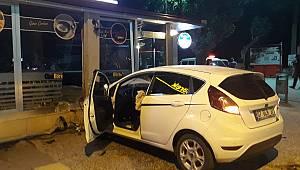 Karaman'da Otomobil Chef Börek'e Girdi