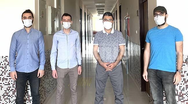 KMÜ öğrencilerinden insansız hava aracı projesi