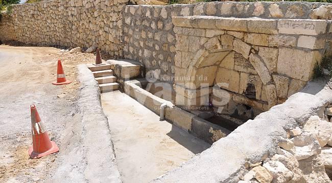 Köprü yakasındaki tarihi çeşme restore edildi