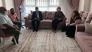 Vali Işık Şehit Mevlüt Dündar'ın Ailesini Ziyaret Etti