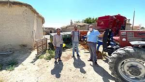 Başkan Bayram Hamidiye Köyünü ziyaret etti