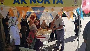Çağlayan Karamanlıları AK Parti'ye üye olmaya çağırdı